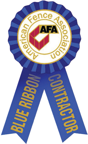 American Fence Association Blue Ribbon Contractor