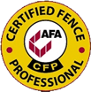 American Fence Association Certified Fence Professional