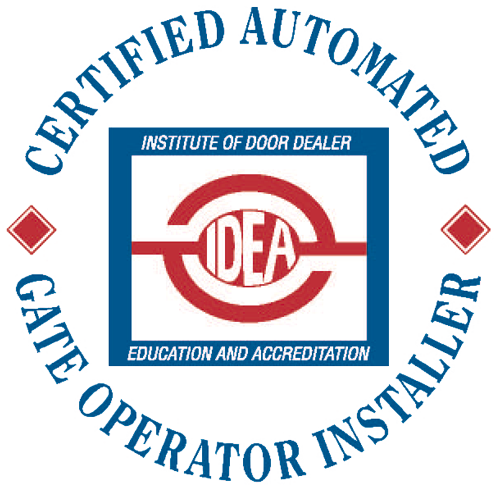 American Fence Association Certified Automated Gate Operator Installer